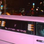 Pinke Limousine
