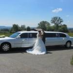 Lincoln als Hochzeitslimo