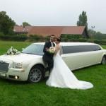 Chrysler als Hochzeitslimo